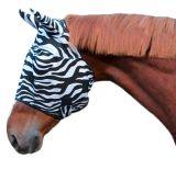 Vliegenmasker zebra paard/pony
