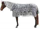 Vliegendeken zebra incl. nekdeel - 215cm